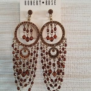 Robert Rose earrings *new*